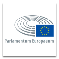 Logo Besucherzentrum EU Parlament