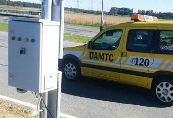 RFID Gate von primtec im Fahrtechnikzentrum bei OEAMTC