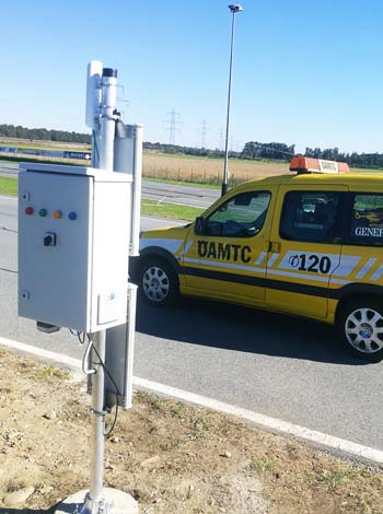 Fahrtechniktraining OEAMTC Gate RFID